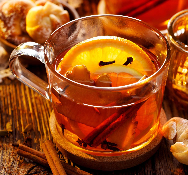 Ingwer-Zimt-Tee