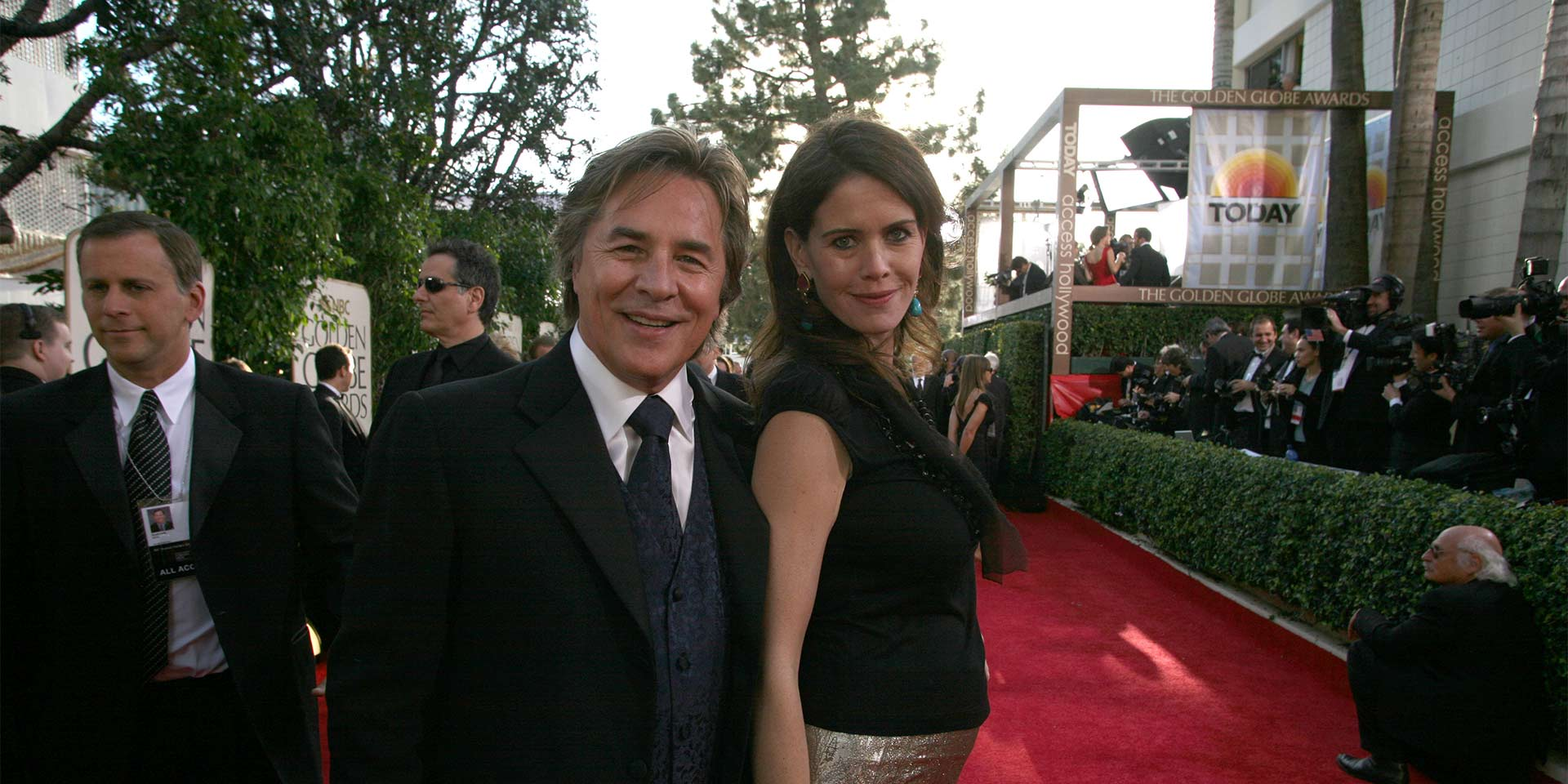 Don Johnson mit Ehefrau Kelley Phleger