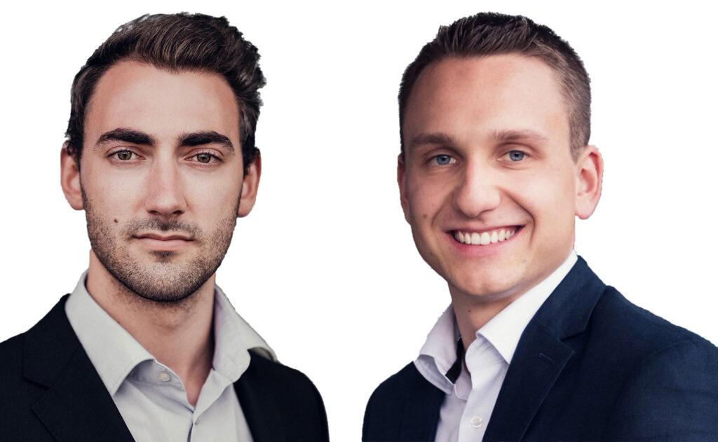Die beiden Geschäftsführer Dominik Brennsteiner (links) und Markus J. Ronacher.