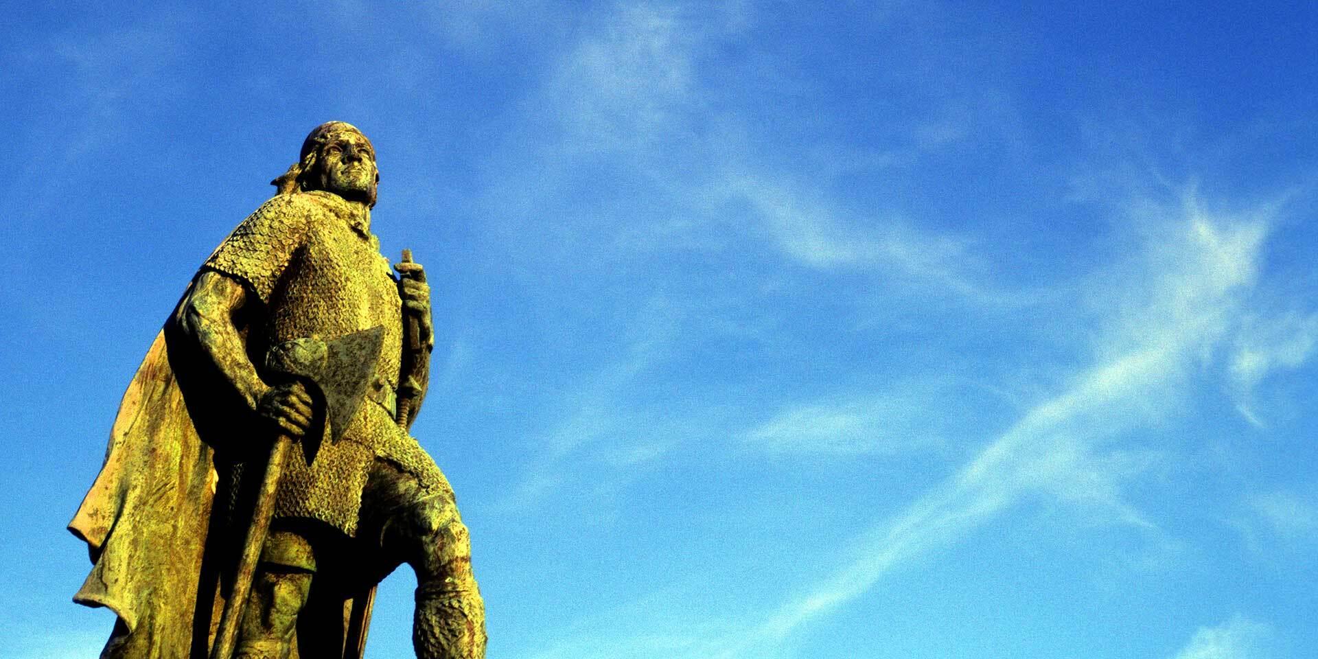 Statue von Leif Eriksson
