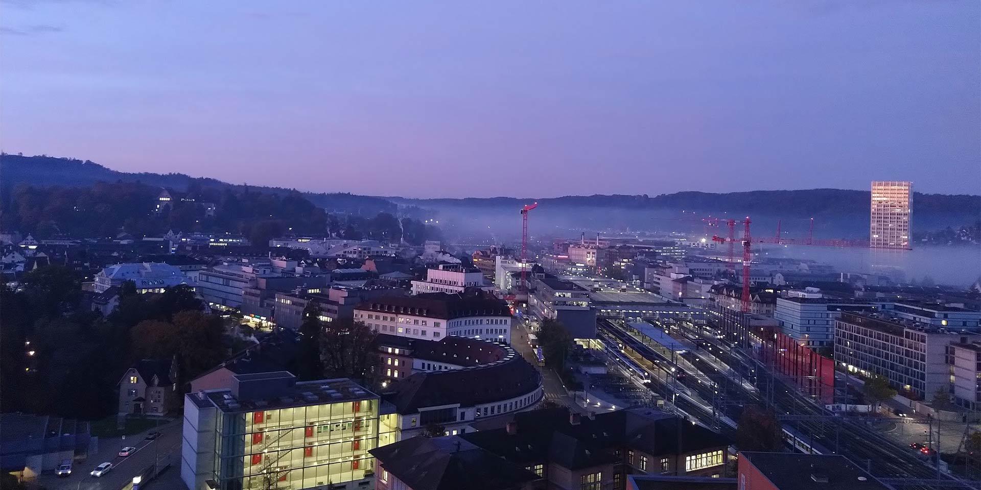 Das öffentliche Baurecht prägt die Stadtsilhouette von Winterthur stärker als viele andere Faktoren.