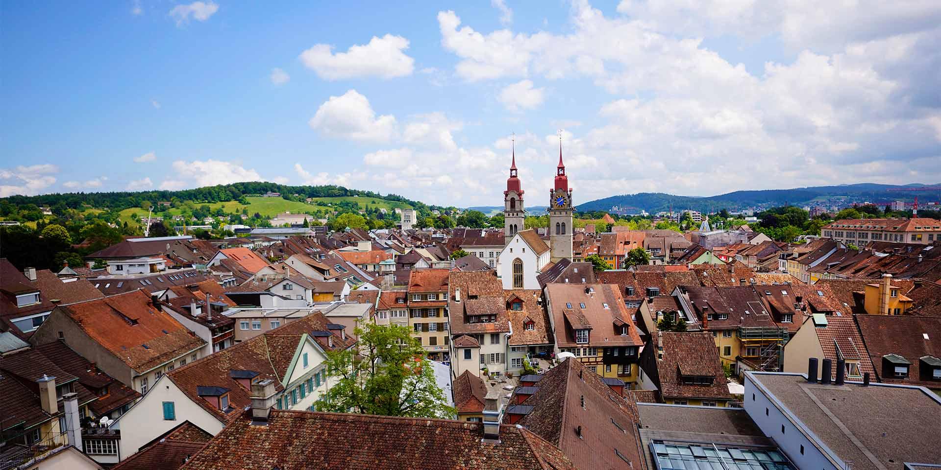 Überblick Altstadt Winterthur ©House of Winterthur